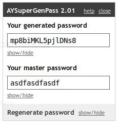 AYSuperGenPass