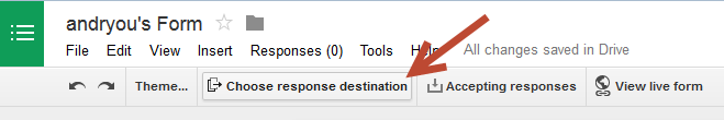 Response Destination