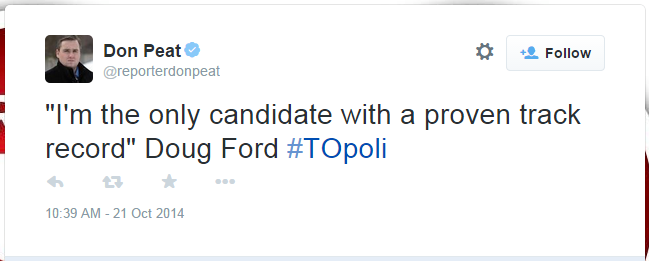 Doug Ford Quote